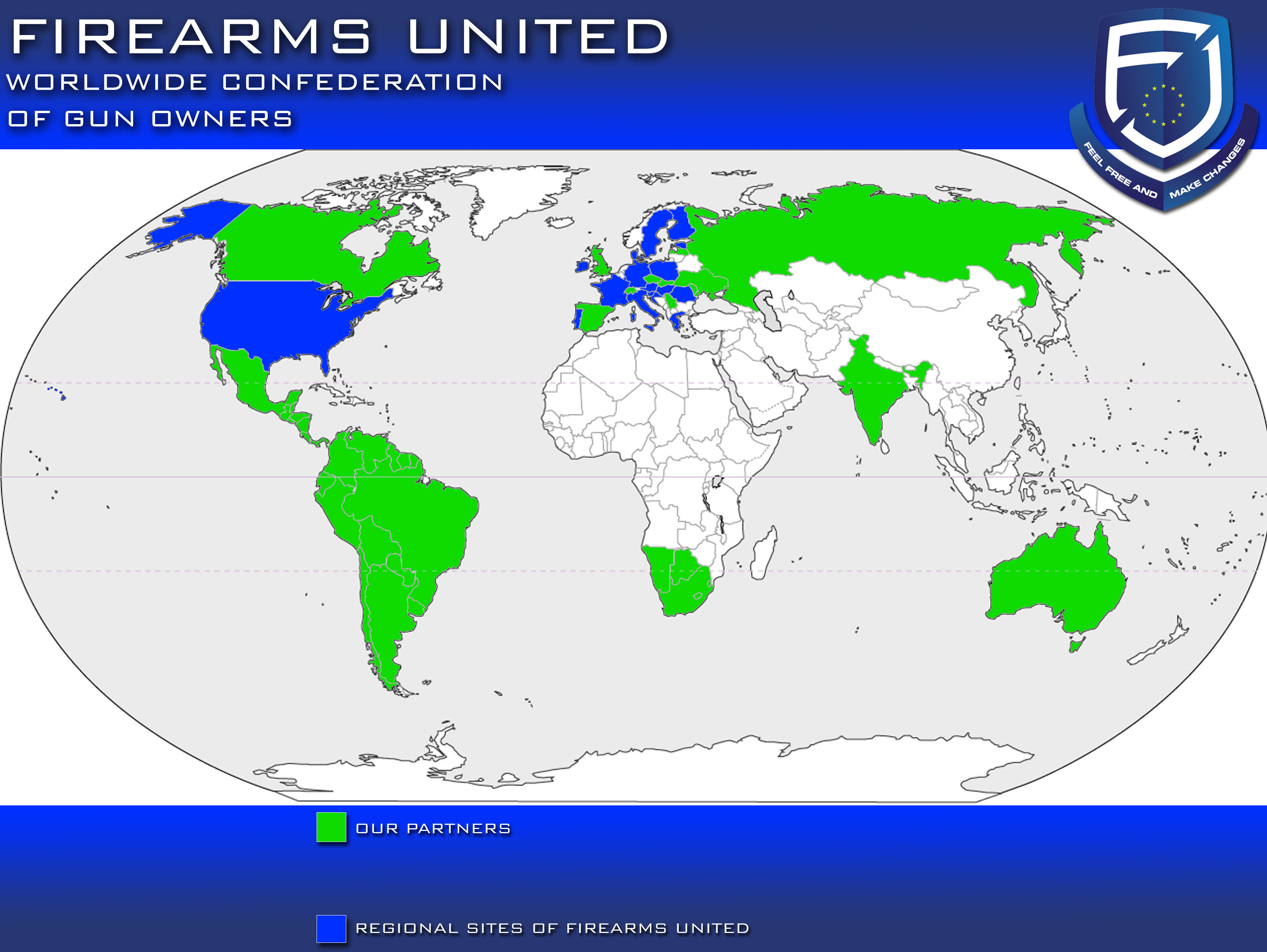 Click On Link Below To See Regional Site Of Firearms United In Your Country