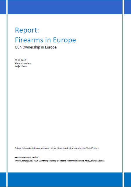 Gun Ownership in Europe