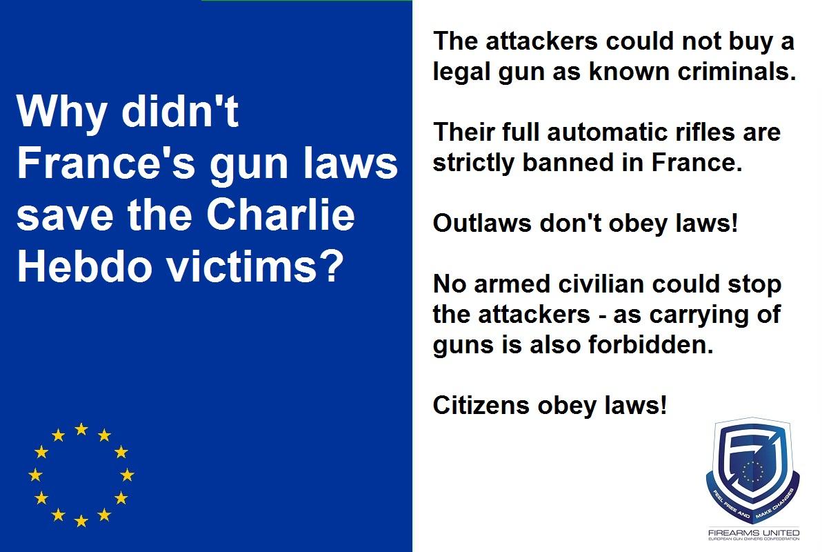 Mem von Firearms United über das französische Waffenrecht