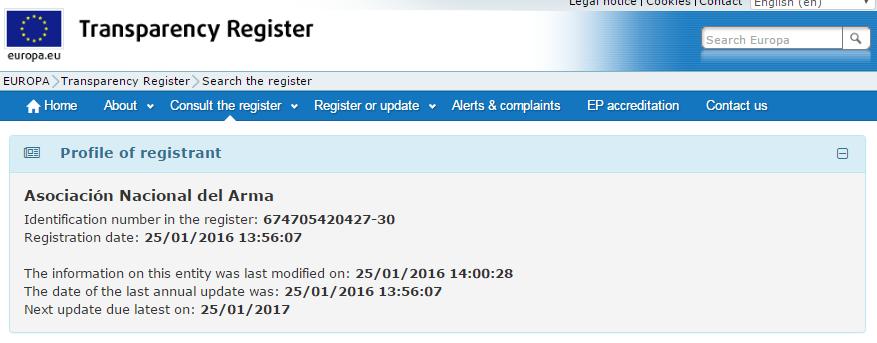 ANARMA-register